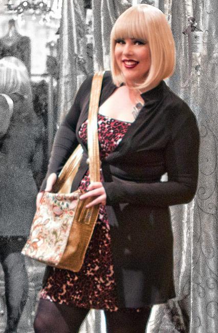 Dress designs by Ann Booth